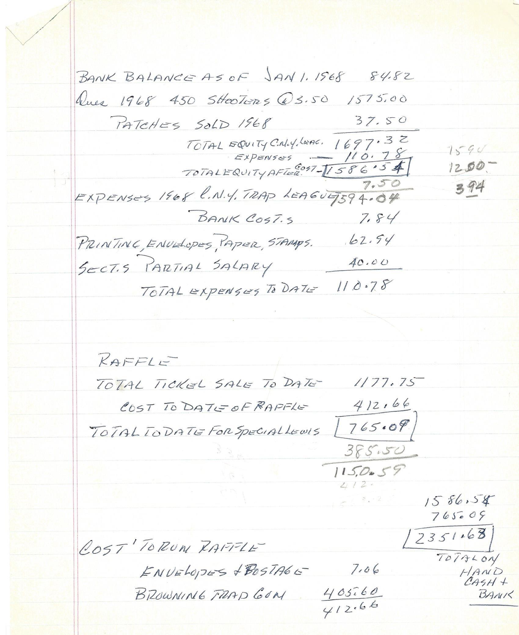 1968 CNYTL Tres Rep