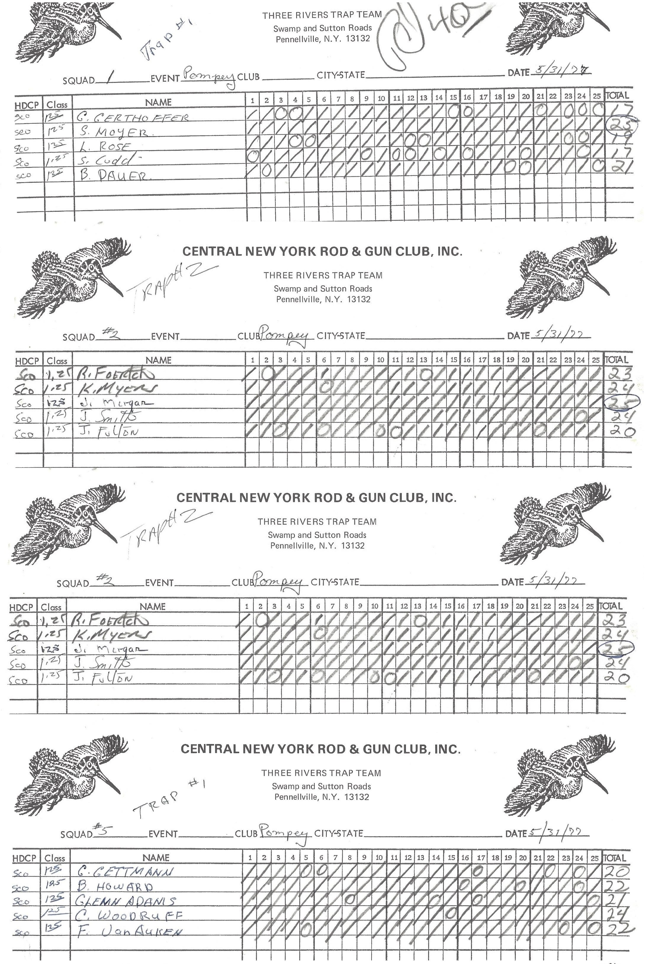 1977 CNYTL 3 Rivers Scoresheets 0531