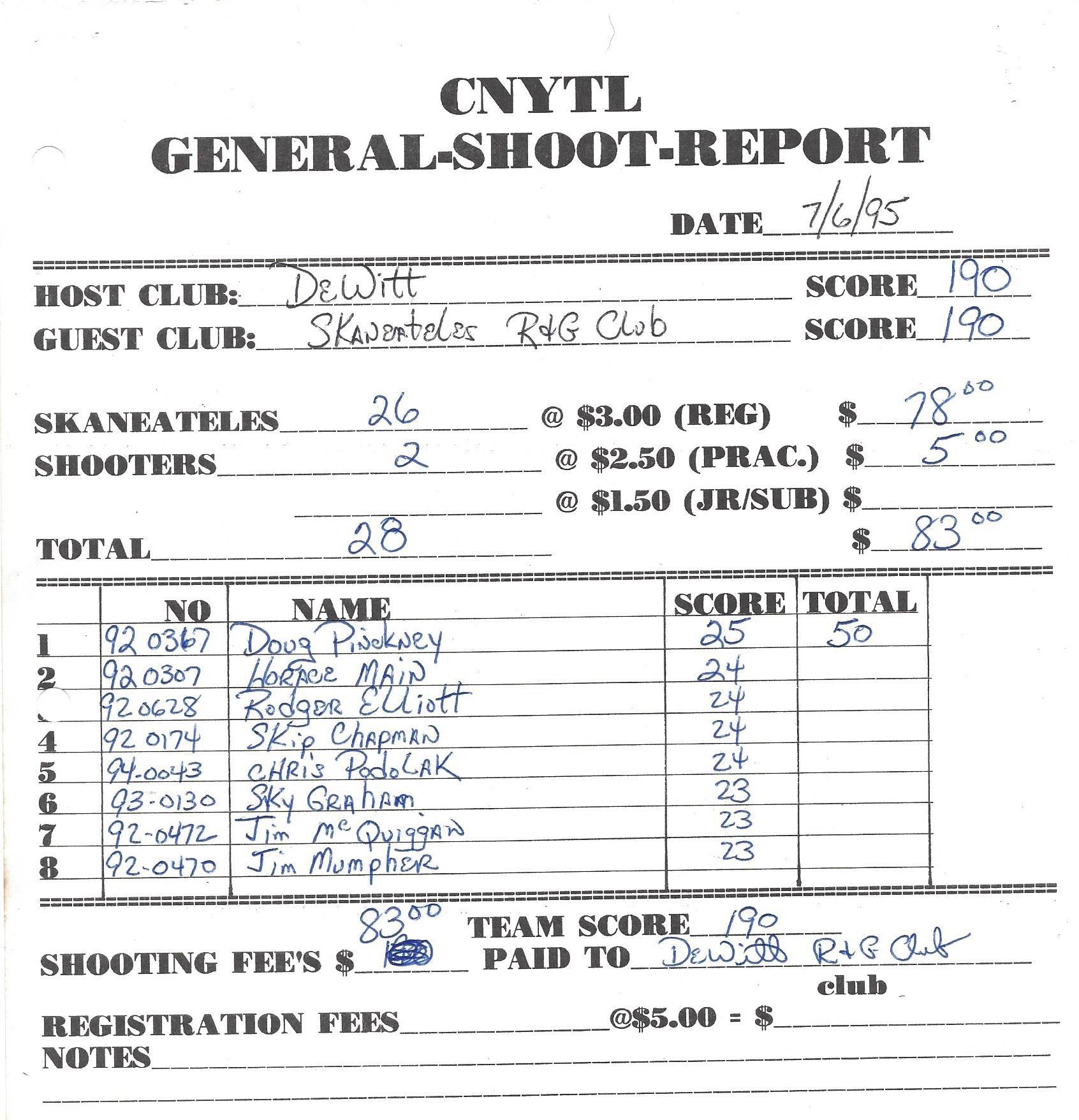 1995 CNYTL SK VS DW 0706